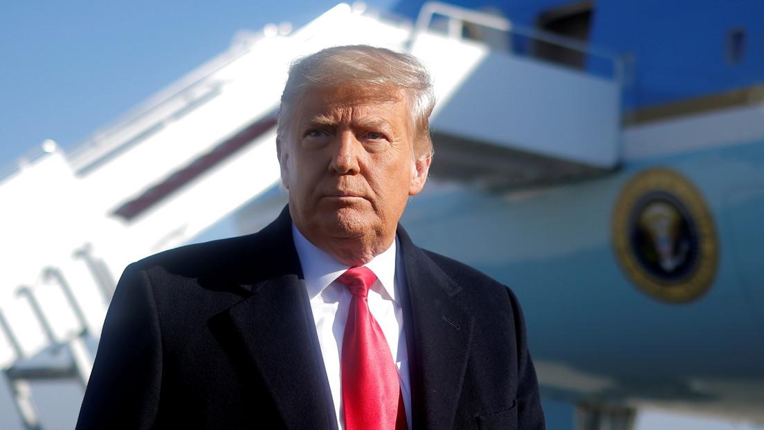 Trump se pronuncia tras la aprobación del segundo juicio político en su contra en la Cámara de Representantes de EE.UU.