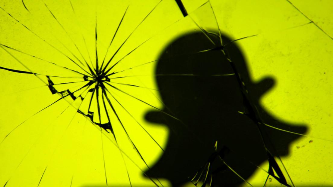 Snapchat anuncia la eliminación indefinida de la cuenta de Donald Trump