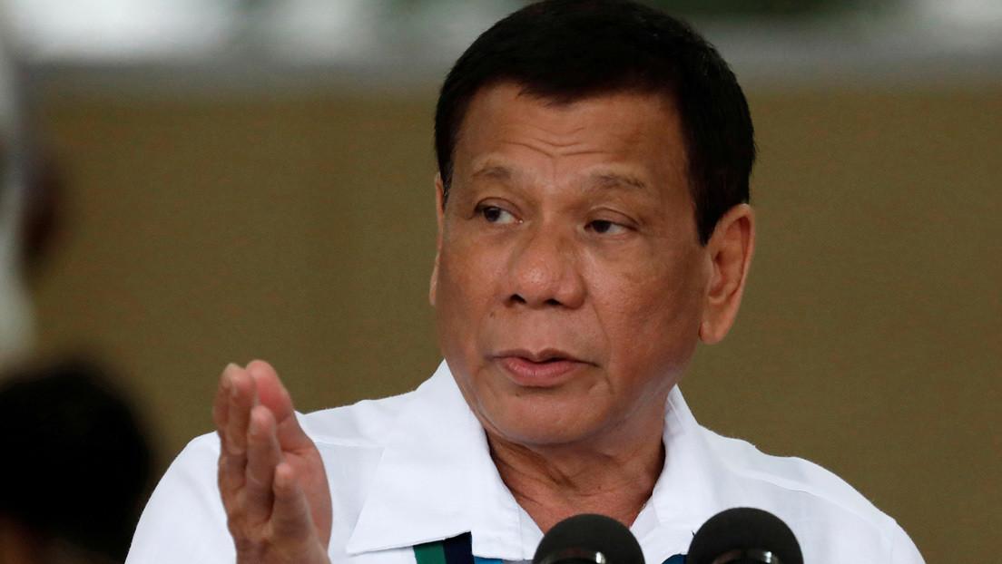 VIDEO: Duterte opina que la Presidencia de Filipinas no es apta para mujeres