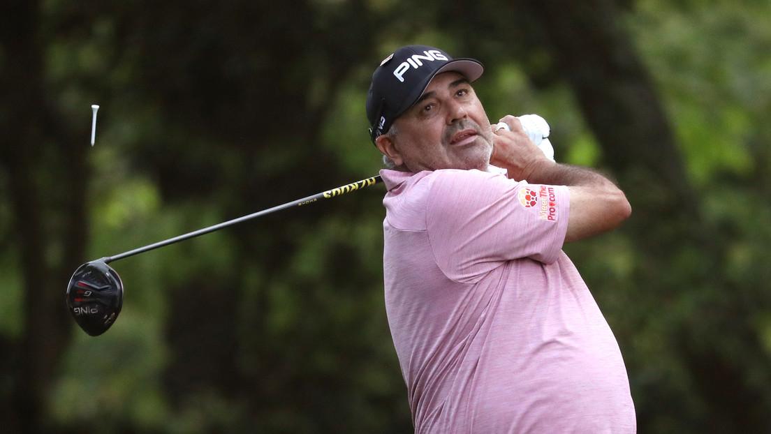 Reportan la detención en Brasil del golfista argentino Ángel 'Pato' Cabrera, prófugo de la Justicia en una causa por violencia de género