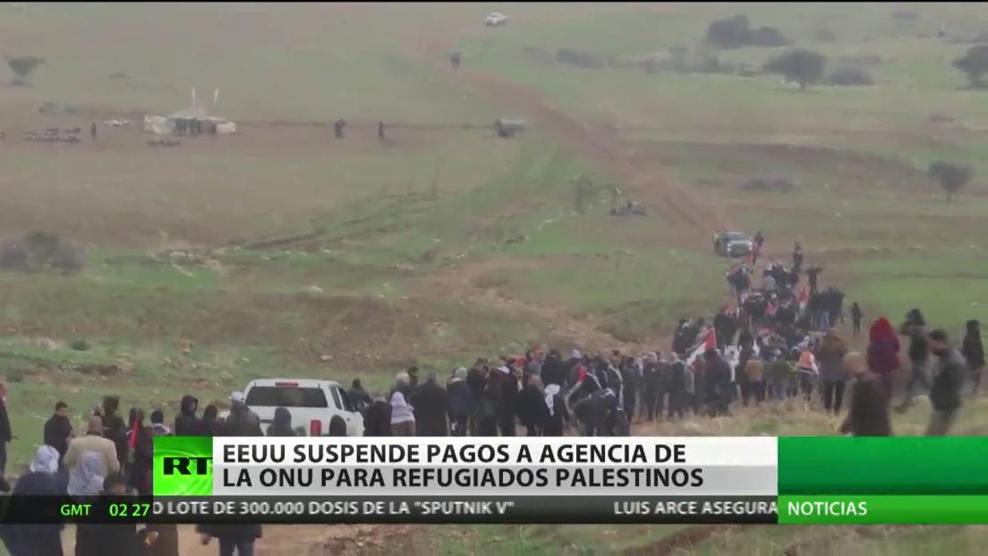 Pompeo anuncia que EE.UU. suspende su financiación a la Agencia de la ONU para los Refugiados de Palestina