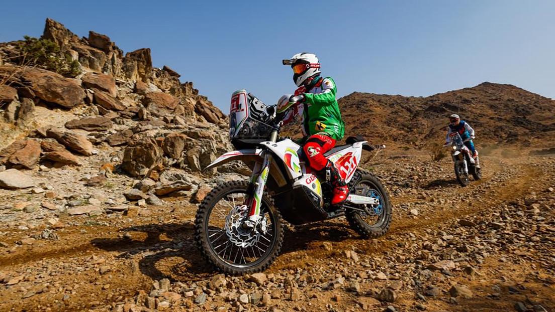 Muere el piloto francés Pierre Cherpin tras la lesión sufrida durante el Rally Dakar