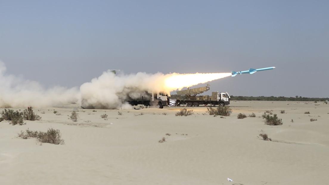 VIDEO: Irán muestra su poderío militar en maniobras con misiles y drones