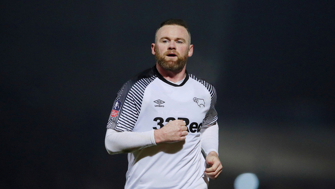 Wayne Rooney cuelga las botas y será el entrenador oficial del Derby County