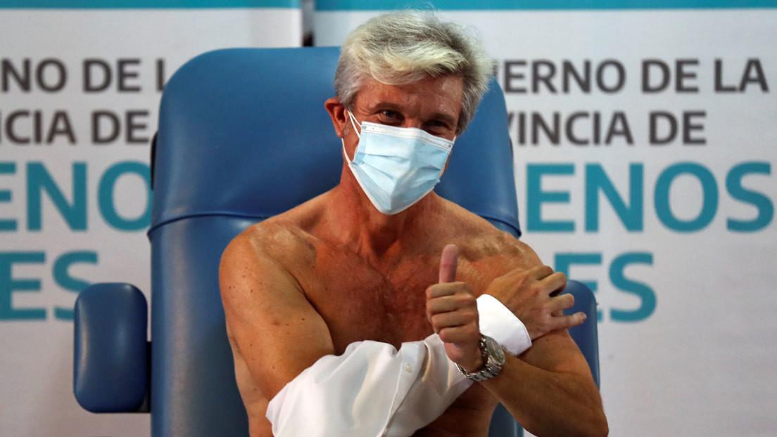 Argentina ya ha aplicado más de 200.000 dosis de la vacuna Sputnik V contra el coronavirus