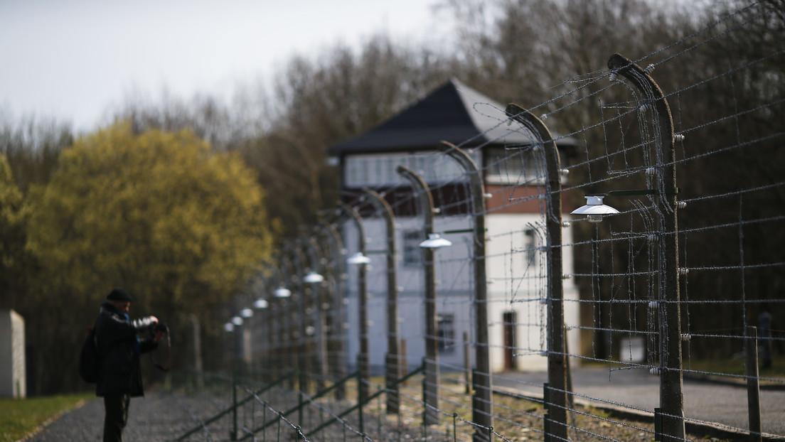 Memorial en el antiguo campo de concentración de Buchenwald pide a los visitantes no hacer deportes de invierno en su territorio
