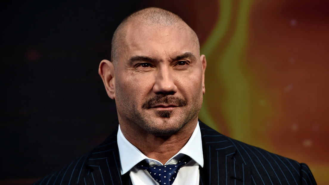 """Actor Dave Bautista attends a premiere of the film """"Guardians of the galaxy, Vol. 2"""" in London April 24, 2017. REUTERS/Hannah McKay"""
