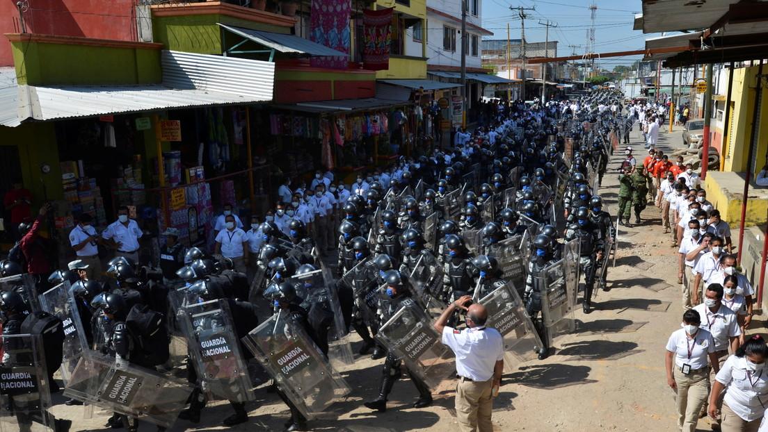FOTOS: México refuerza la seguridad fronteriza ante la posible llegada al país de la caravana de migrantes centroamericanos