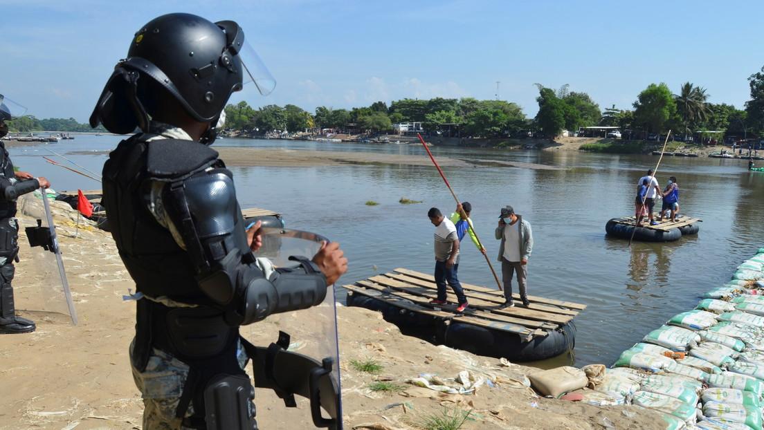 México restringe el paso de cientos de residentes de Guatemala ante la posible llegada al país de miles de migrantes centroamericanos