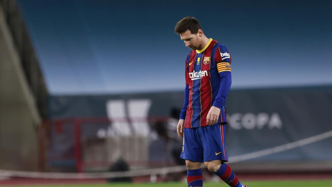 Cuántos partidos puede perderse Messi tras recibir su primera tarjeta roja con el F.C. Barcelona por la agresión en la final de la Supercopa de España