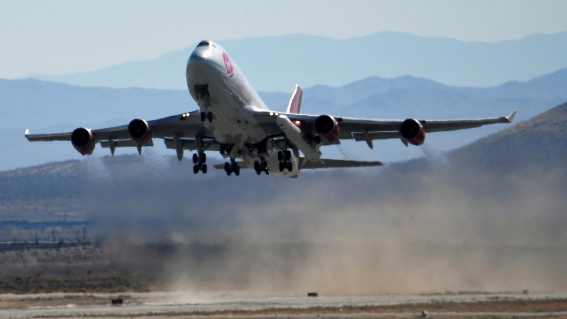 Virgin Orbit lanza con éxito su cohete LauncherOne (VIDEO)
