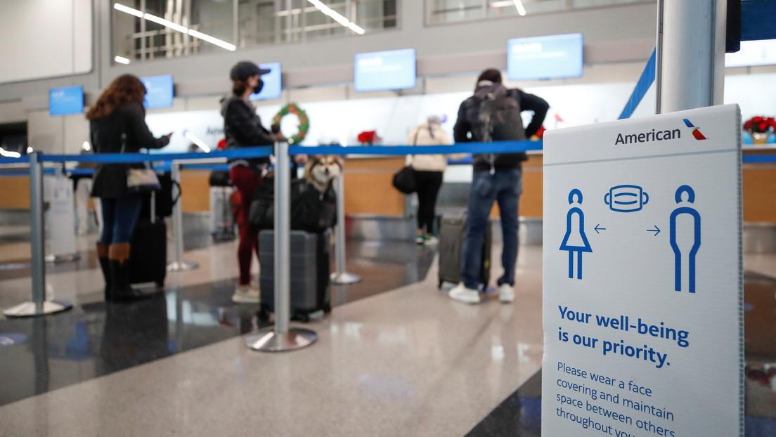 Un hombre pasa tres meses en un aeropuerto de EE.UU. por temor a volar durante la pandemia