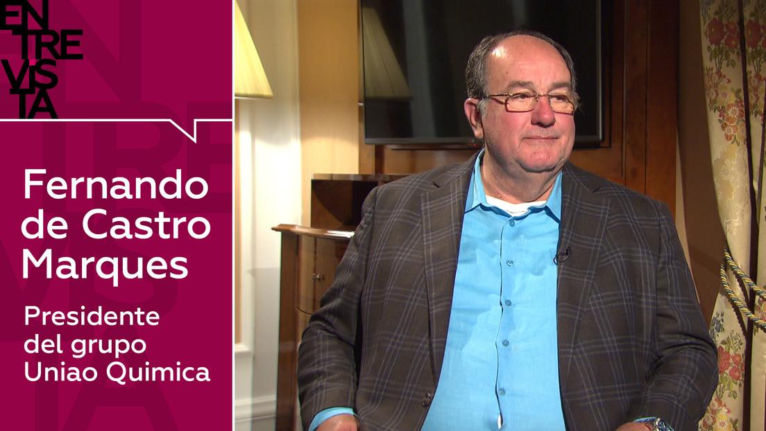 ¿Cuántas dosis de Sputnik V producirá Brasil? ¿A qué países se exportará?: Habla Fernando de Castro, presidente de la farmacéutica Uniao Química