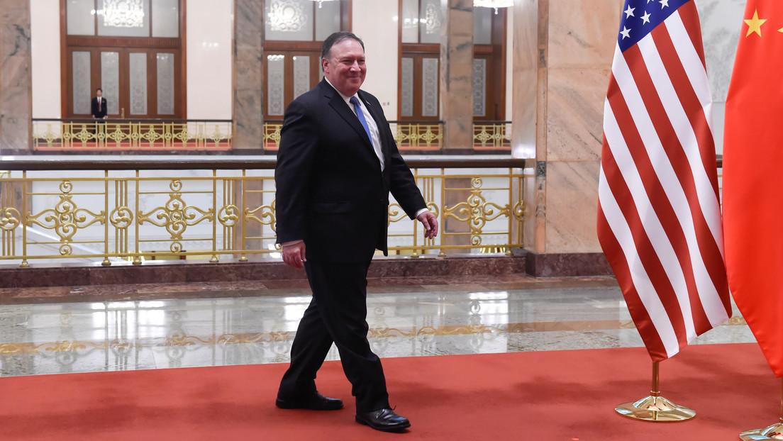 """Pekín llama """"mantis religiosa"""" a Mike Pompeo tras las últimas sanciones de EE.UU. contra China"""