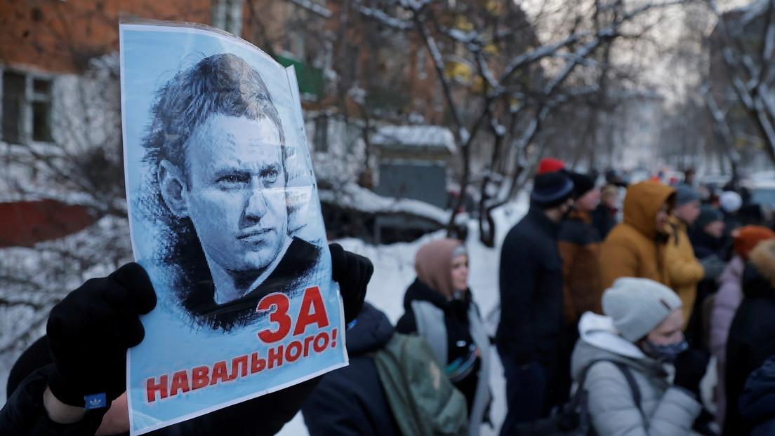 Arrestan a Navalny por 30 días