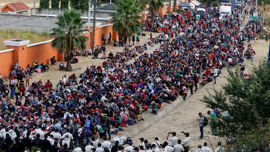 Qué se sabe de la primera caravana de migrantes de América Latina en 2021