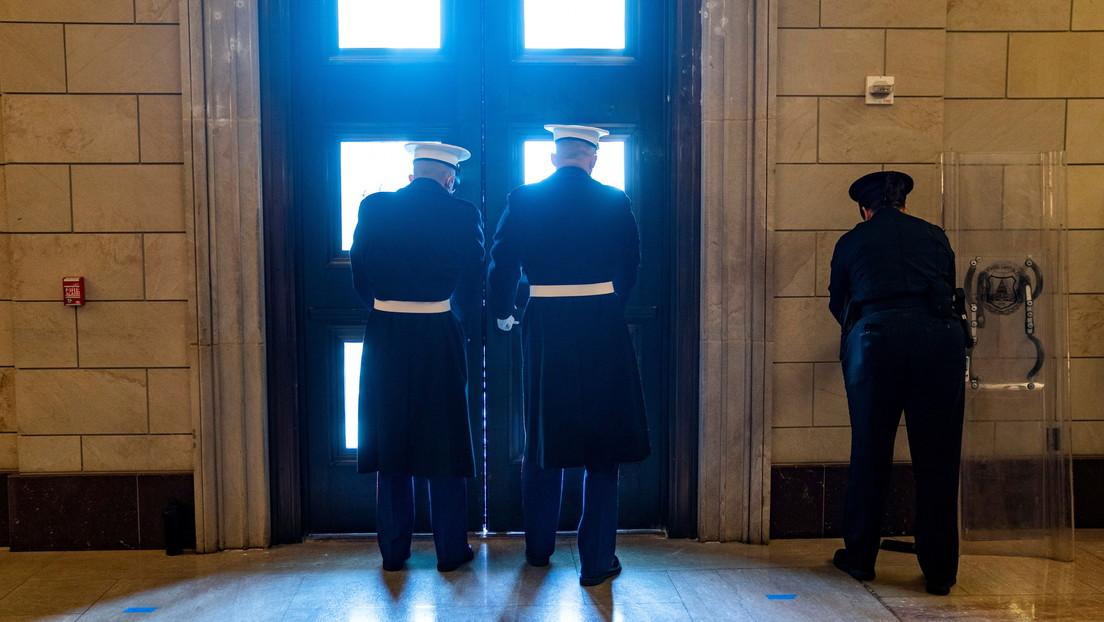 """VIDEOS: Cierran el Capitolio de EE.UU. debido a una """"amenaza de seguridad externa"""""""