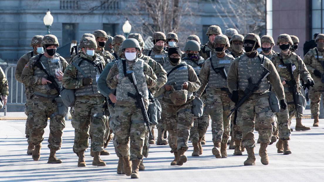 Jefe del Estado Mayor iraní se burla del refuerzo militar en Washington para la investidura de Biden