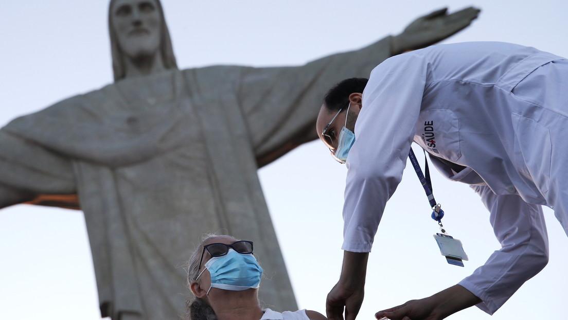 Brasil adelanta su campaña de inmunización contra el coronavirus en todo el país con la vacuna china