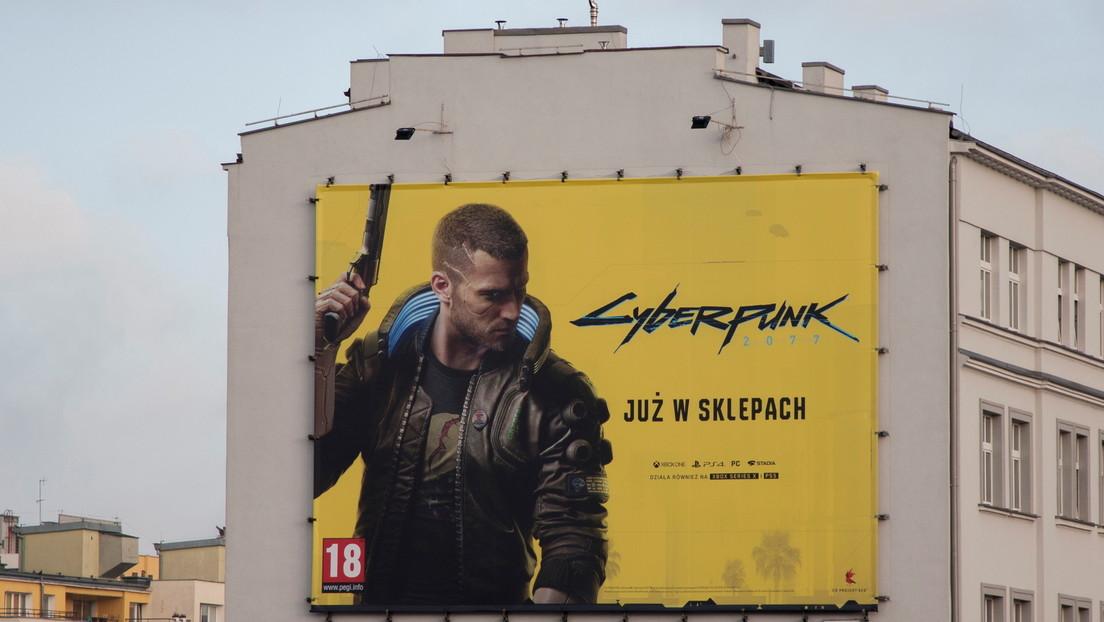 Imponen multa de casi 78.000 dólares por un mural publicitario del videojuego Cyberpunk 2077 en Brasil