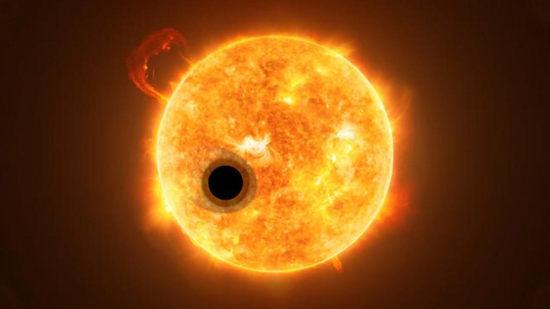 """Descubren que un exoplaneta gigante es menos denso de lo que se pensaba y lo comparan con el """"algodón de azúcar"""""""