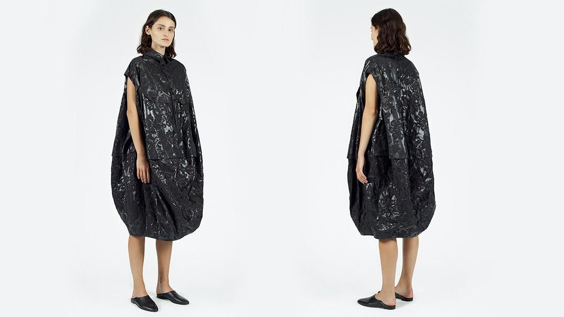 Comparan con una bolsa de basura un vestido que vale 660 dólares