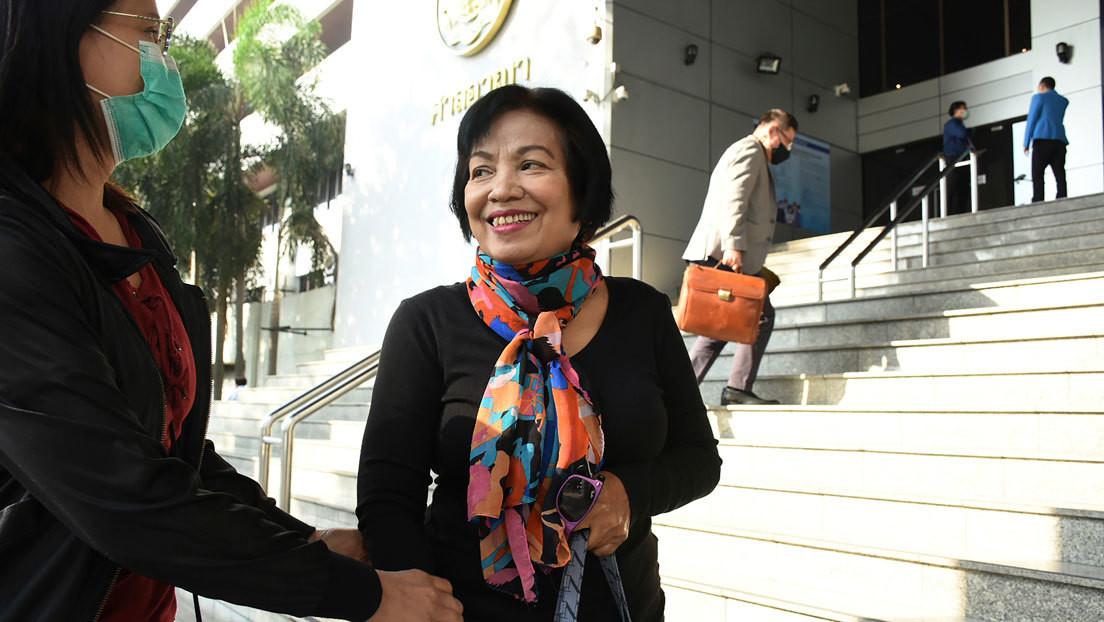 Una mujer es condenada en Tailandia a una pena récord de 43 años de prisión por insultar a la monarquía