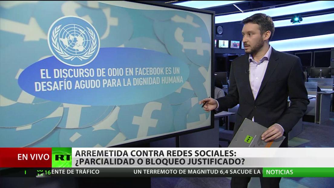 Arremetida contra redes sociales: ¿parcialidad o bloqueo justificado?