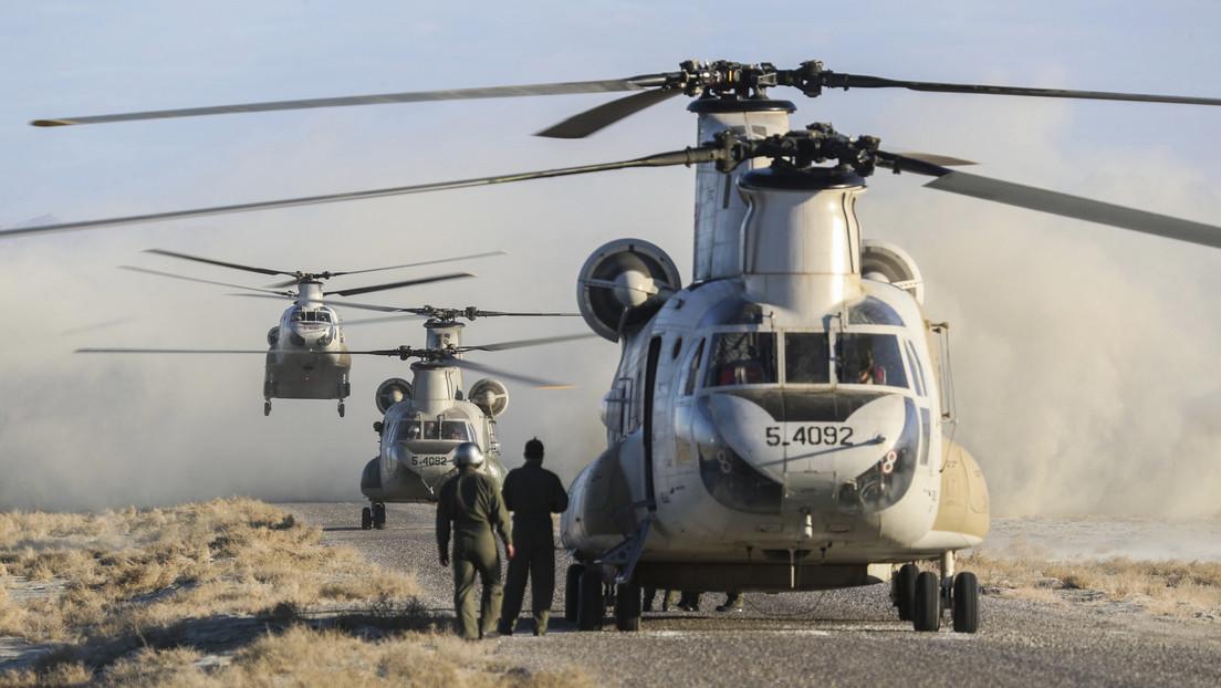 FOTOS: Irán lleva a cabo el quinto ejercicio militar en dos semanas en medio de tensiones con EE.UU.