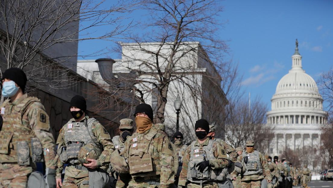 Apartan a 12 miembros de la Guardia Nacional de la investidura de Biden por supuestos lazos con el extremismo