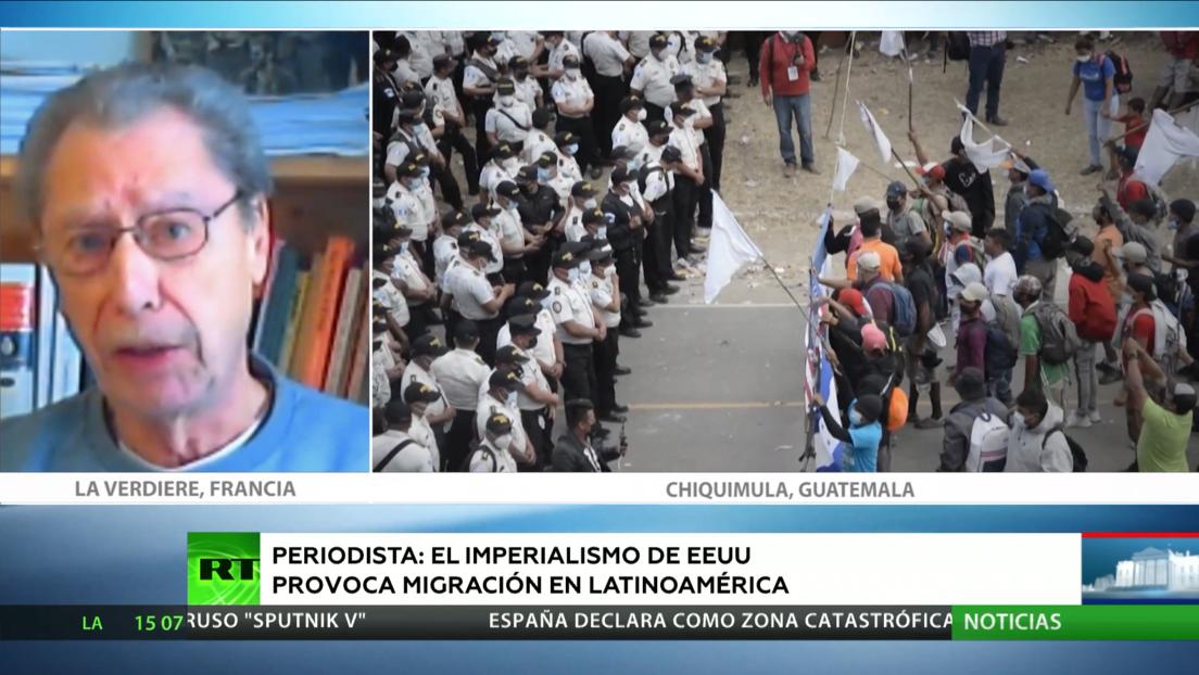 Periodista internacional: El imperialismo de EE.UU. provoca migración forzada en Latinoamérica