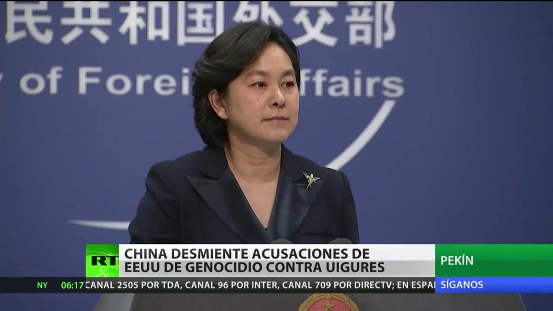 China rechaza las acusaciones de EE.UU. por genocidio contra los uigures