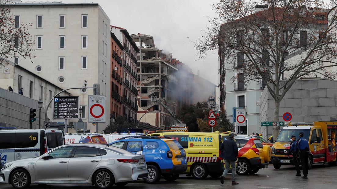 El alcalde de Madrid confirma al menos dos muertes en la explosión de un edificio en la capital