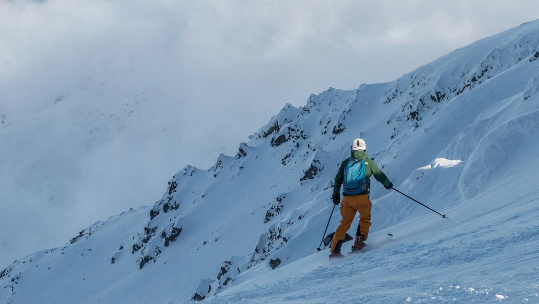 Dos esquiadores podrían perder dedos en pies y manos tras participar en una carrera a -28 grados