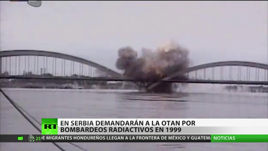 Serbia demandará a la OTAN por bombardeos radioactivos en 1999