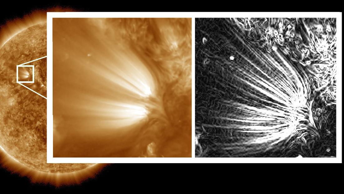 Astrónomos descubren 'plumas' en la corona del Sol