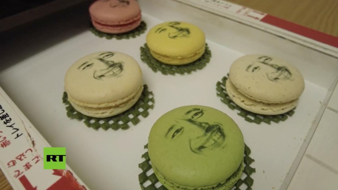 Venden en Japón 'rostros comestibles' para suavizar la tristeza por el confinamiento (VIDEO)