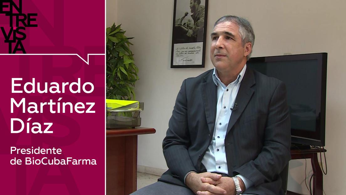 """Presidente de BioCubaFarma Eduardo Martínez Díaz: """"Cuba podrá inmunizar a toda su población en el 2021"""""""
