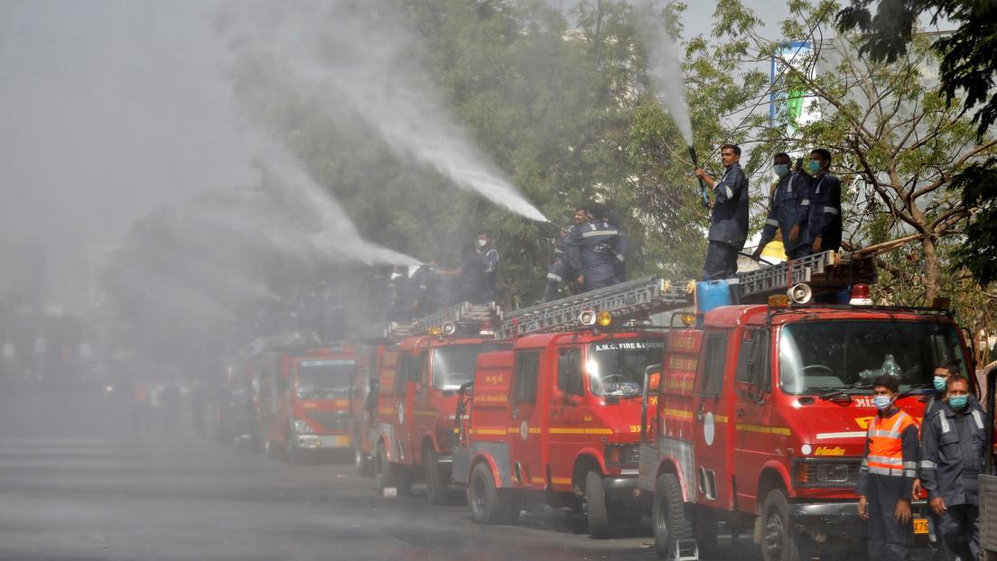 Cinco muertos en un incendio en el Serum Institute of India, el mayor fabricante de vacunas del mundo