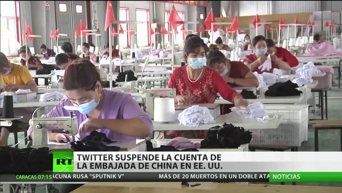 Continúa la ola de censura de Twitter y bloquea la cuenta de la Embajada de China en EE.UU.