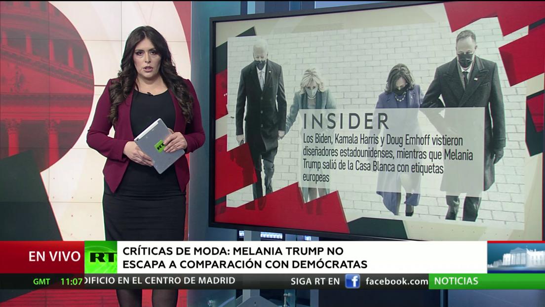 Melania Trump no escapa a comparaciones de moda con primeras damas demócratas