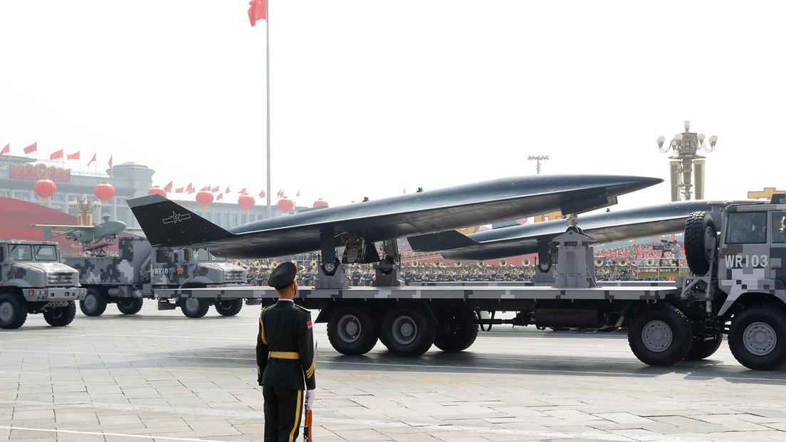 FOTOS: Trascienden las primeras imágenes del dron de ataque pesado chino GJ-11