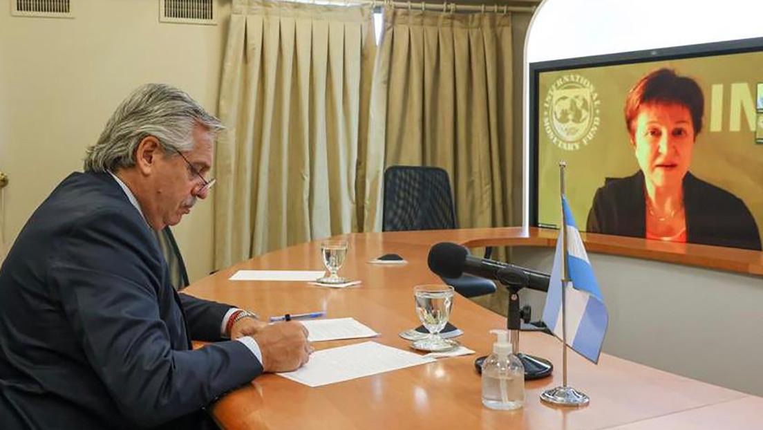 Alberto Fernández dialoga con la titular del FMI y avanza con un nuevo programa para la renegociación de la deuda argentina