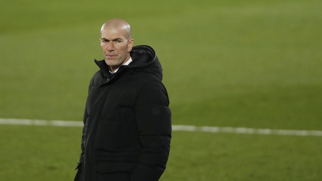 Zinedine Zidane da positivo al covid-19