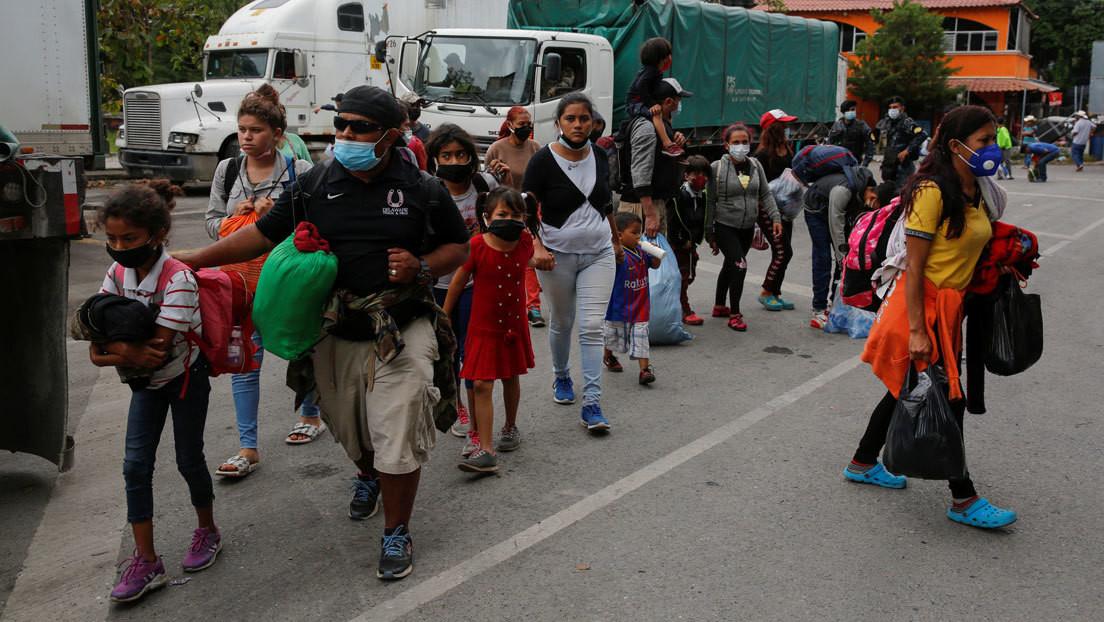 Niños heridos, cansados y con traumas psicológicos: ¿por qué hay menores solos en las caravanas de migrantes?