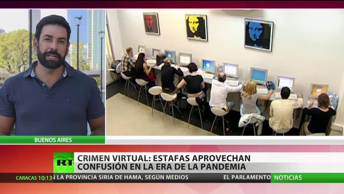 Crimen virtual: estafadores aprovechan la confusión en la era de la pandemia
