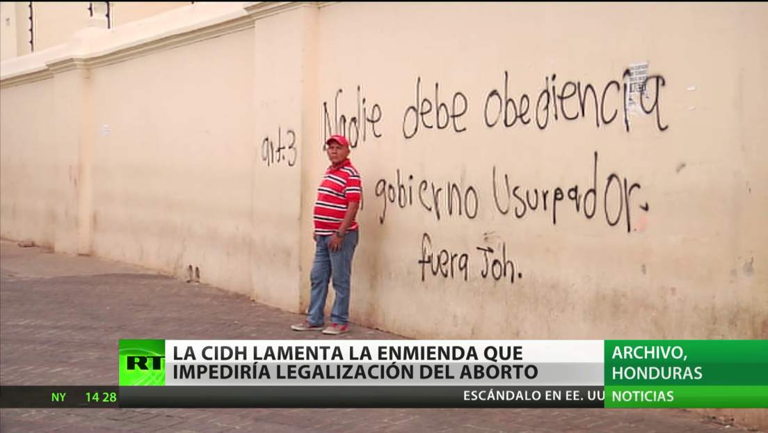 La CIDH lamenta la enmienda aprobada en Honduras que impediría la legalización del aborto