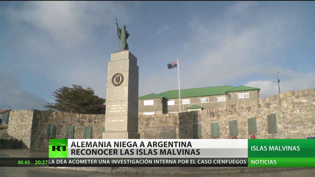Alemania no reconoce las Malvinas como parte del territorio argentino