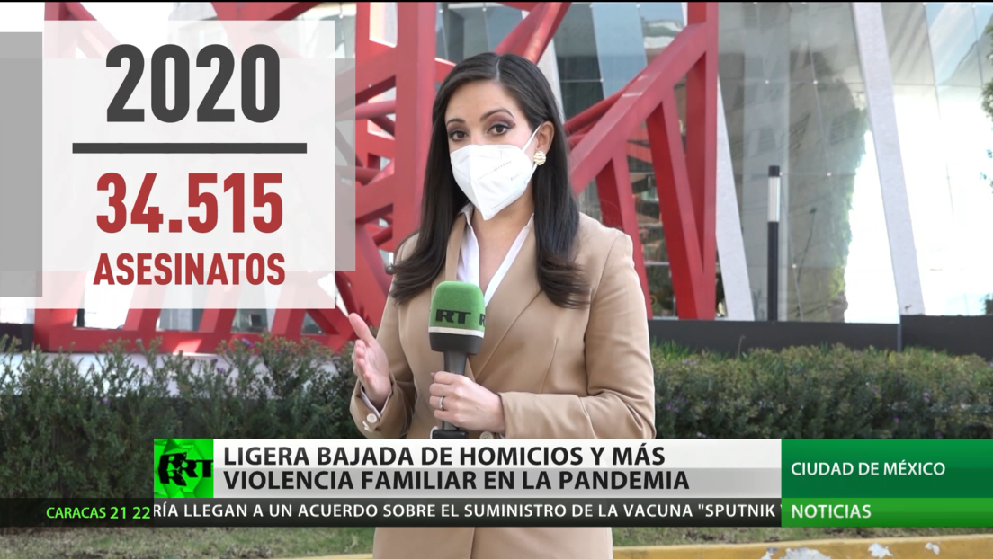 Ciudad de México registra una ligera reducción de homicidios y más violencia familiar durante la pandemia