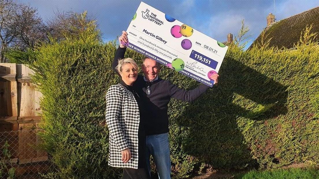 Una pareja sale a comprar zanahorias y termina ganando más de 150.000 dólares en la lotería